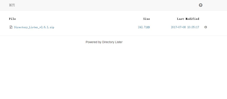 Directory Lister - 直链简洁轻量级的网盘程序